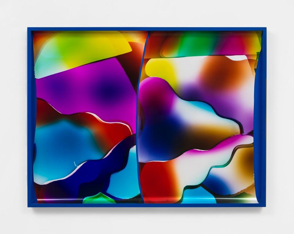 Image: Mariah Robertson  150 151, 2020  unique chromogenic print  50 x 66 inches (127 x 167.6 cm)