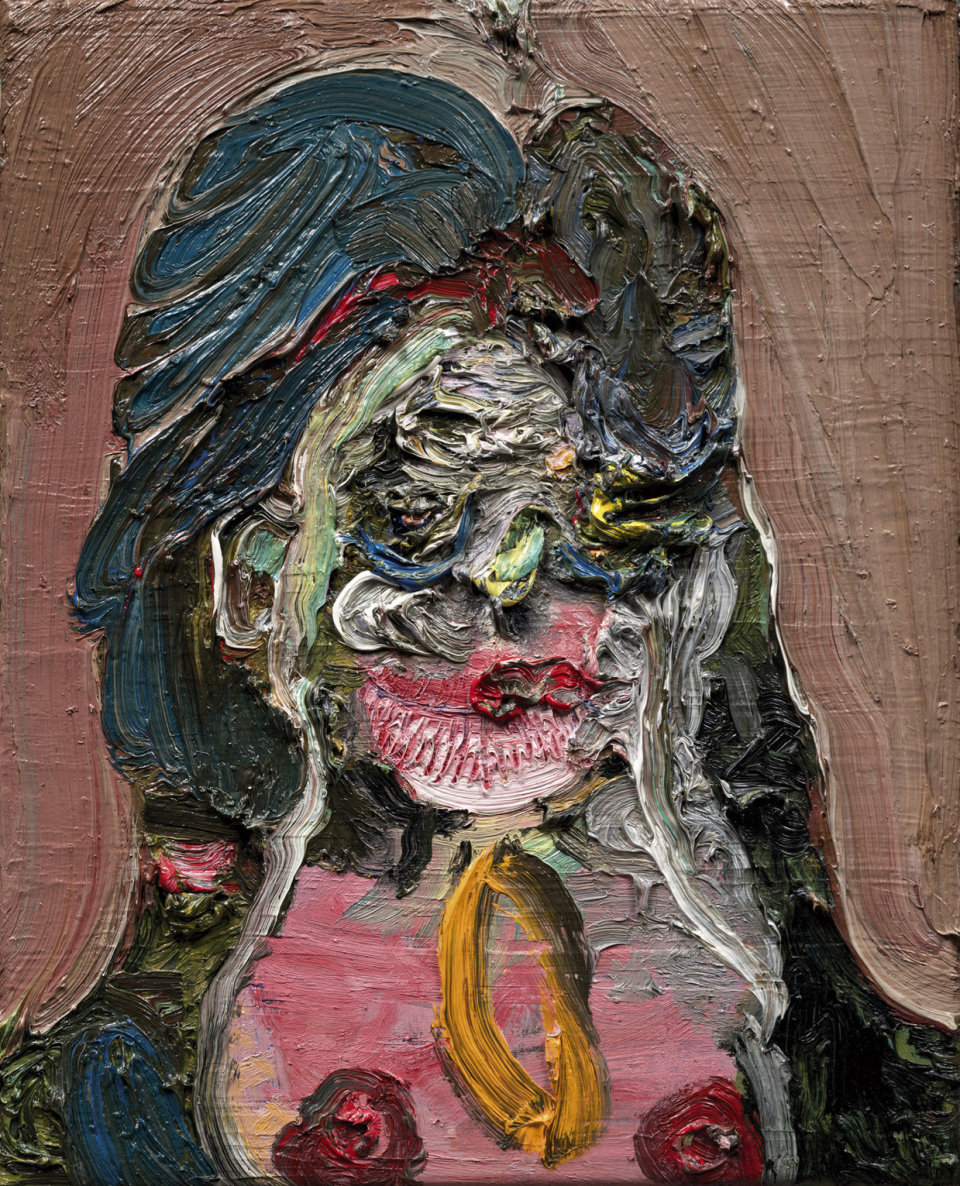 Image: Trude Viken  Lady 2, 2018  oil on canvas  19 3/4 x 15 3/4 inches (50.2 x 40 cm)