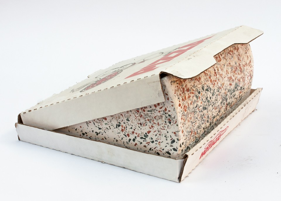 Image: Cameron Crone  Slim, 2014  terrazzo and cardboard  12-1/4 x 6-3/4 x 12-1/2 inches  unique