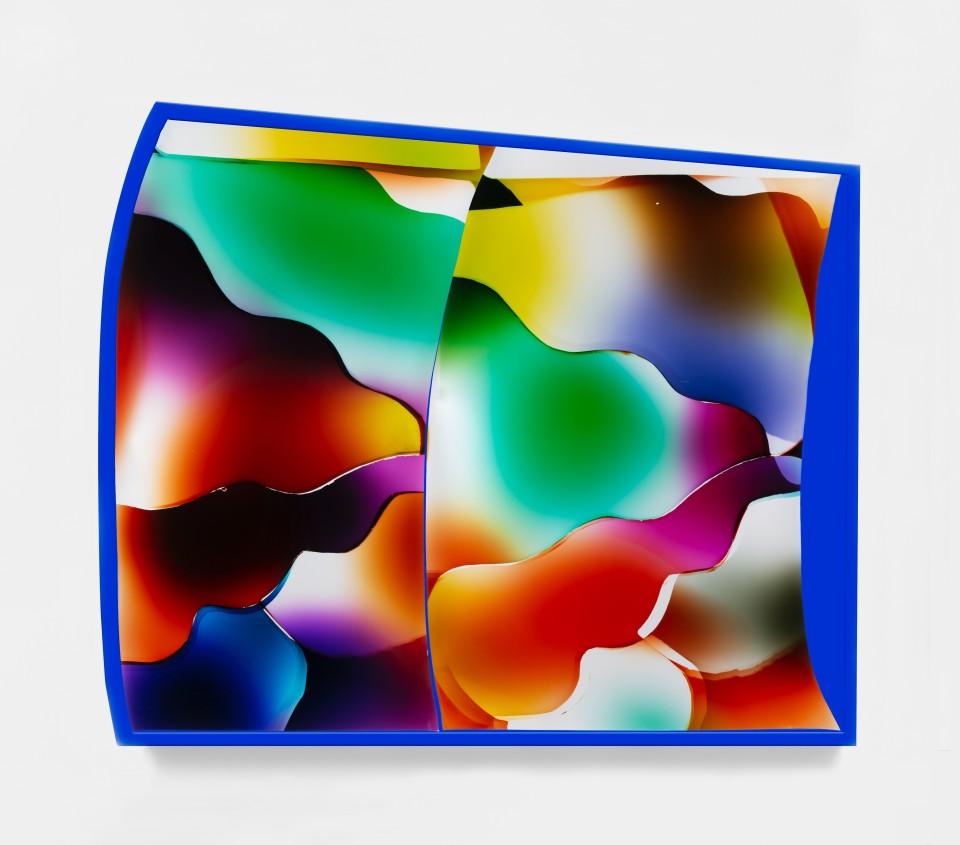 Image: Mariah Robertson  148 149, 2020  unique chromogenic print  50 x 60 inches (127 x 152.4 cm) (approx)