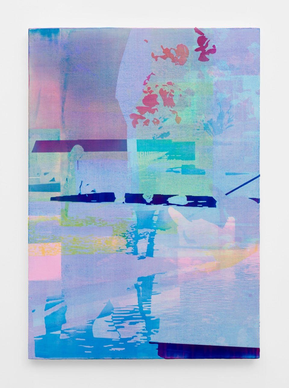 Image: Zoe Walsh  Moondark to dawn, 2020  signed and dated verso  acrylic on canvas-wrapped panel  28 1/2 x 20 inches (72.4 x 50.8 cm)
