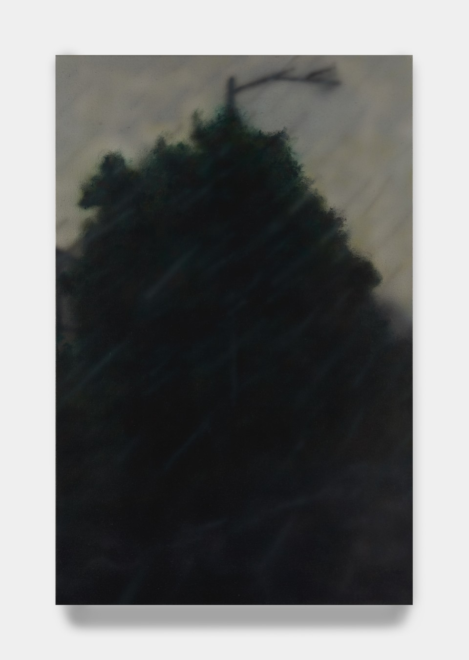 Image: Sung Hwa Kim  Last days, endless monsoon, 2020  signed, titled and dated verso  acrylic on canvas  40 x 26 inches (101.6 x 66 cm)