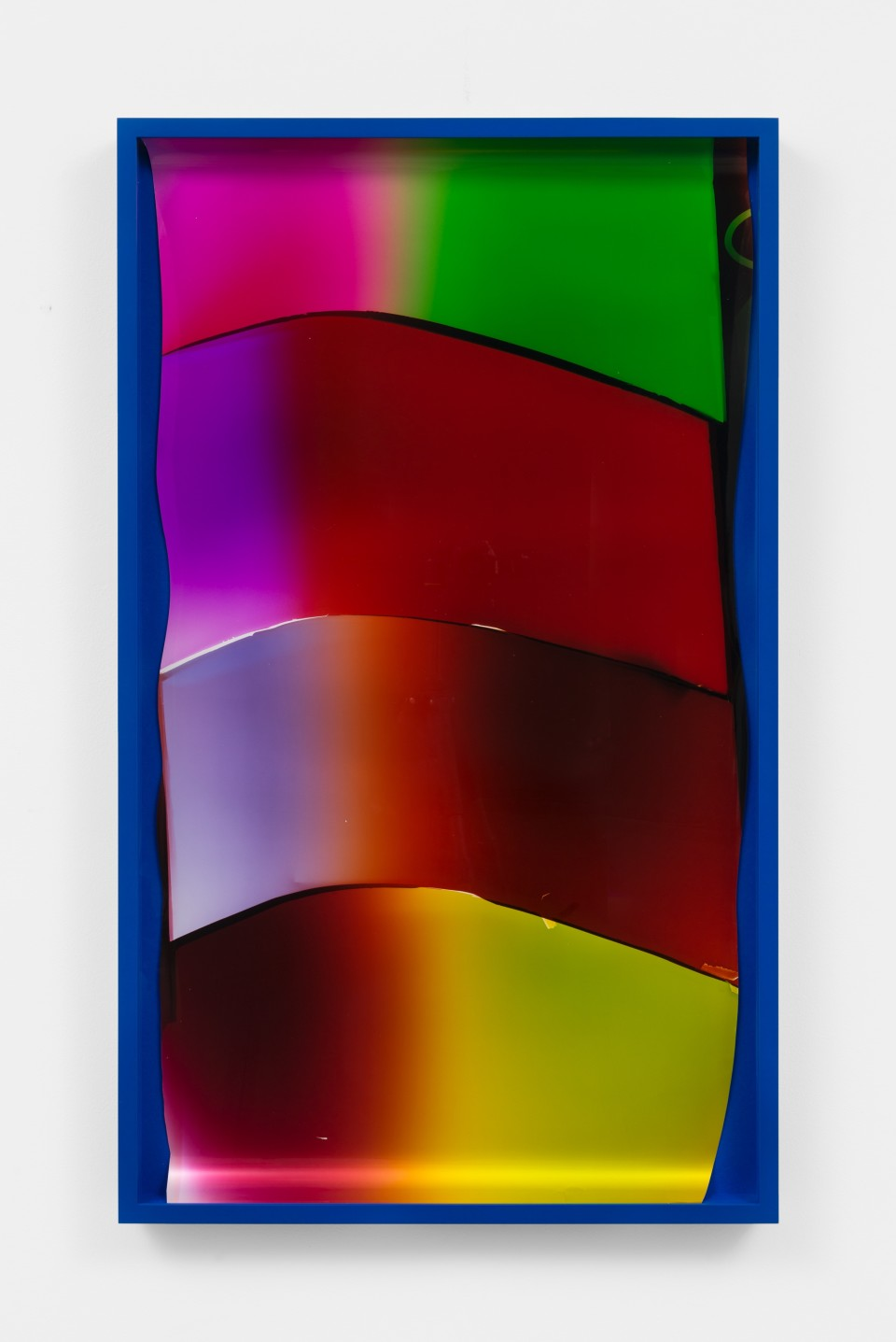 Image: Mariah Robertson  171, 2020  unique chromogenic print  49 3/4 x 29 3/4 inches (126.4 x 75.6 cm)