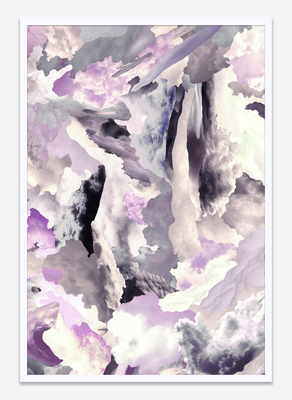 Image: Case Simmons  Clouds V, 2019  pigment print in artist's frame  26 x 18 inches (66 x 45.7 cm)  edition of 1 plus 1 artist's proof