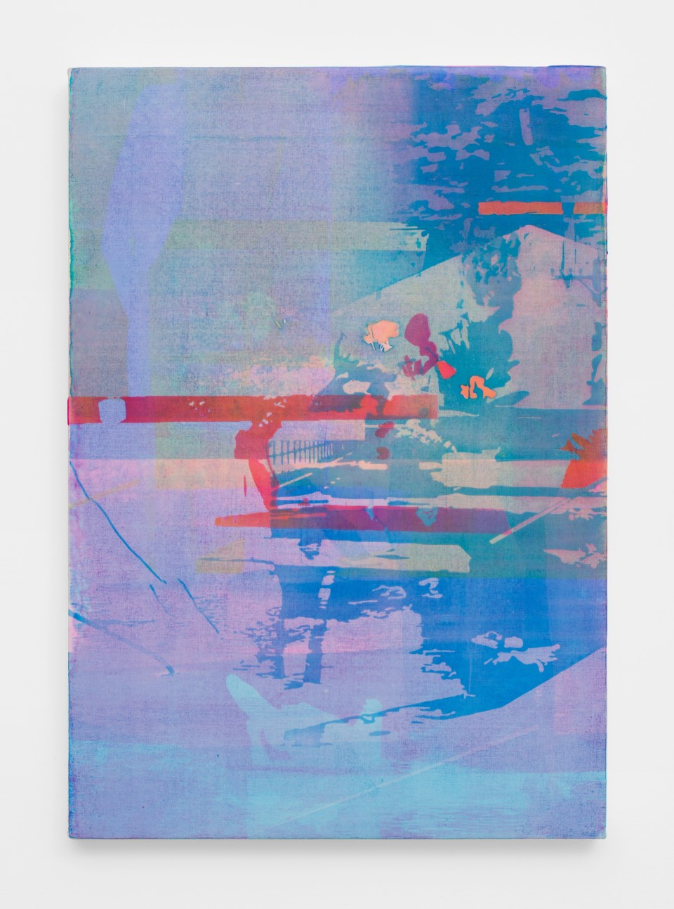 Image: Zoe Walsh  Trepidations, 2020  signed and dated verso  acrylic on canvas-wrapped panel  28 1/2 x 20 inches (72.4 x 50.8 cm)