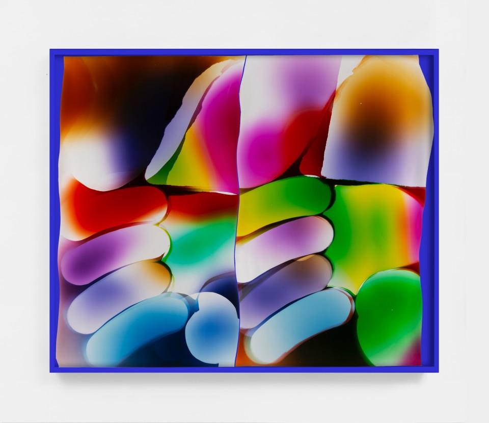 Image: Mariah Robertson  191 192, 2020  unique chromogenic print  50 x 60 inches (127 x 152.4 cm) (approx)