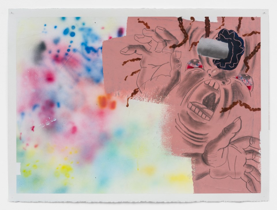 """Image: Pat Phillips  Untitled """"A grandmother was shot in the head with a rubber bullet this summer"""