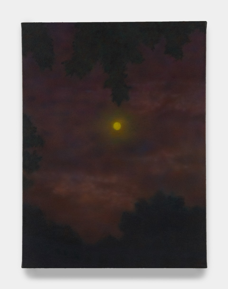 Image: Sung Hwa Kim  Nocturne: the sun, the moon, and the truth cannot be long hidden, 2020  signed, titled and dated verso  acrylic on canvas  24 x 18 inches (61 x 45.7 cm)