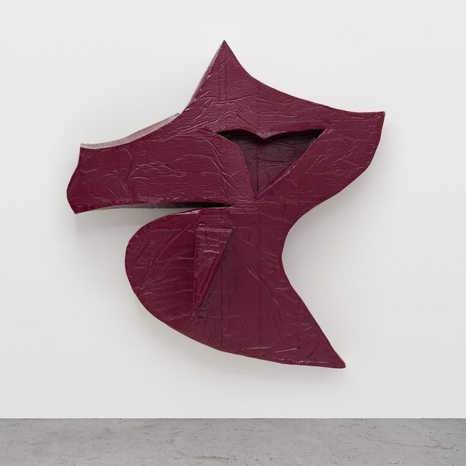 Image: Daniel Boccato  smegface, 2018  epoxy, fiberglass, polyurethane  68 x 71 x 17 inches (172.7 x 180.3 x 43.2 cm)