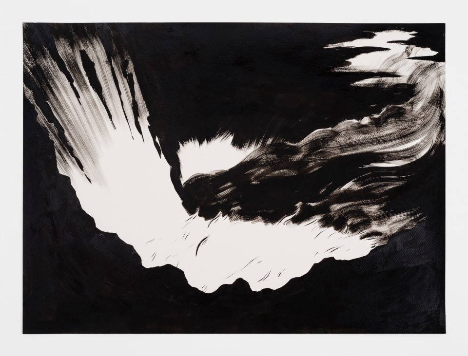 Image: Mark Thomas Gibson  The Inferno, 2020  ink on paper  22 x 30 inches (55.9 x 76.2 cm)