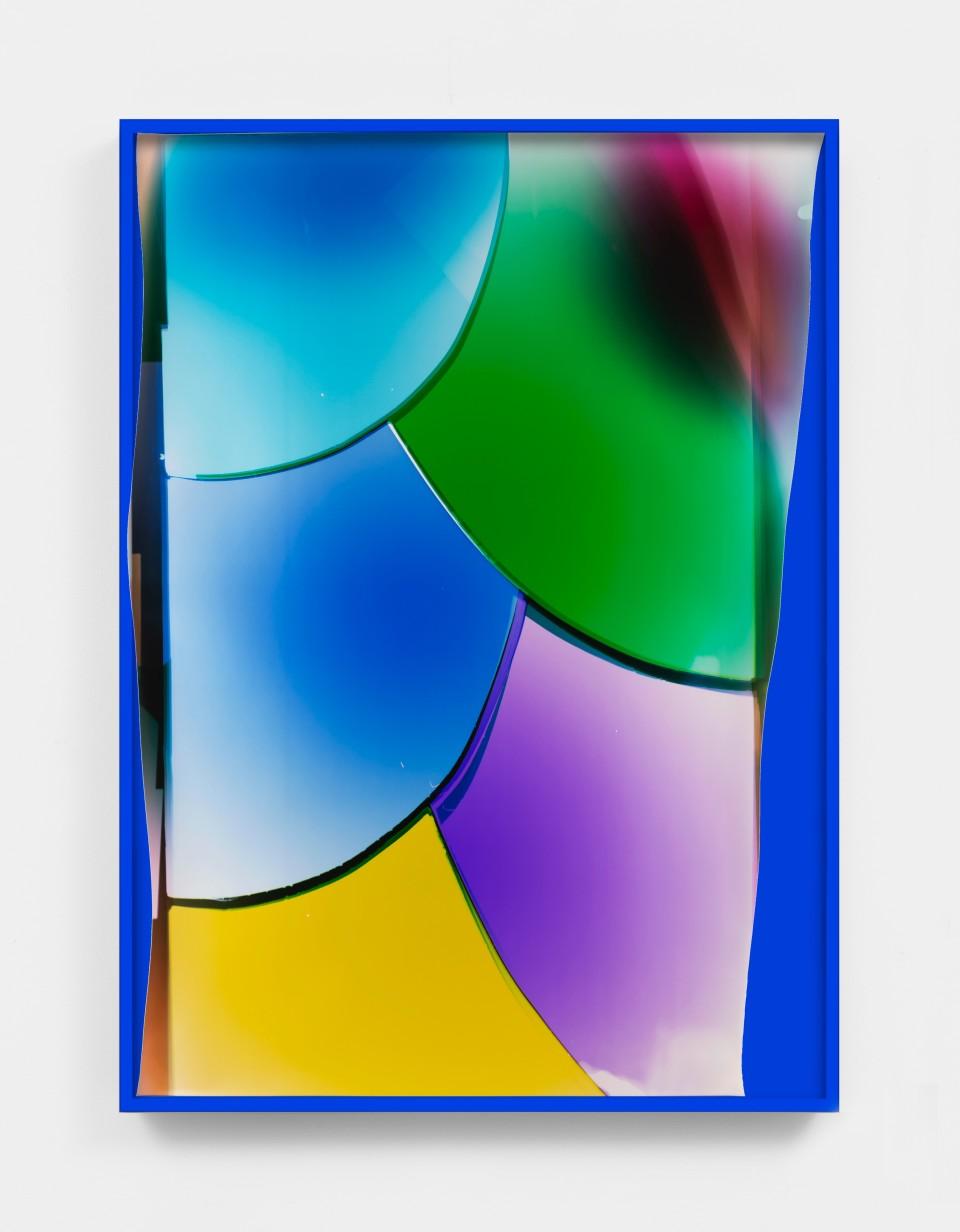 Image: Mariah Robertson  112, 2020  unique chromogenic print  50 x 36 inches (127 x 91.4 cm) (approx)