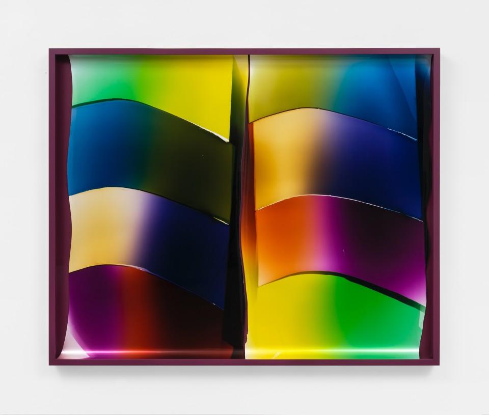 Image: Mariah Robertson  172 173, 2020  unique chromogenic print  50 x 61 1/2 inches (127 x 156.2 cm)