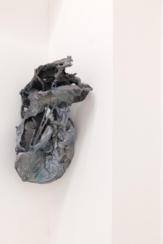 Fliege, 2016  Aluminium  38 x 74 x 28 cm 15 x 29 1/8 x 11 1/8 in