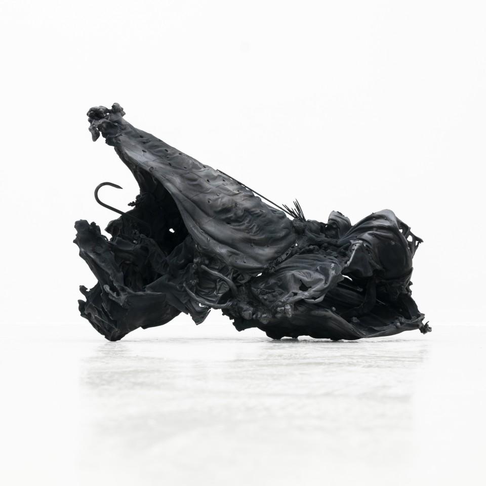 KS Schwarz, 2016  Aluminium  60 x 42 x 29 cm 23 5/8 x 16 1/2 x 11 3/8 in