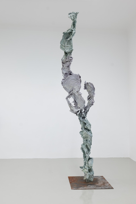 WÜGG, 2016  Aluminium  height 303 cm height 119 1/4 in