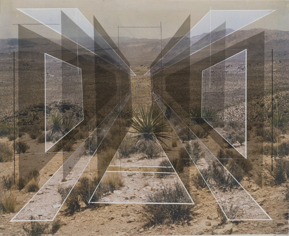 Rodrigo Valenzuela, New Land No. 36, 2018 Acrylic, toner and chalk on canvas 121,9x149,9 cm