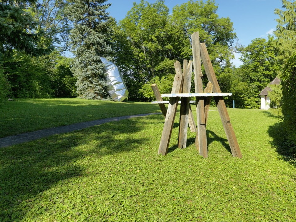 Sculpture Garden, Installation view: Cäcilia Brown & Hans Kupelwieser, 2019 Photo: © FARBPRAXIS