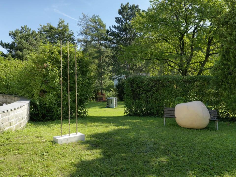Sculpture Garden, Installation view Photo: © FARBPRAXIS