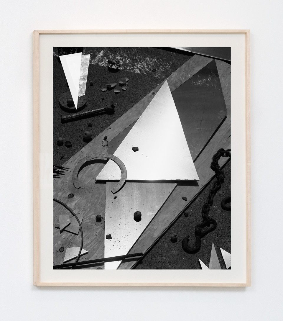 Image: Matthew Porter  Eggshells, Concrete, Apples, 2015  signed, dated, titled and numbered verso  archival pigment print  image size: 34-1/2 x 27-5/8 inches frame size: 40 x 33-1/8 inches  edition of 4 plus 2 artist's proofs