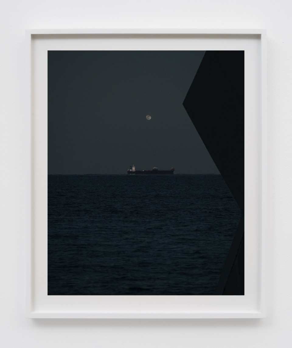Image: Matthew Porter  Moon Dusk, 2018  signed, titled, dated and numbered verso  archival pigment print  image size: 20 x 16 inches (50.8 x 40.6 cm) frame size: 23 1/2 x 19 1/2 x 1 3/8 inches (60 x 49.5 x 3.5 cm)