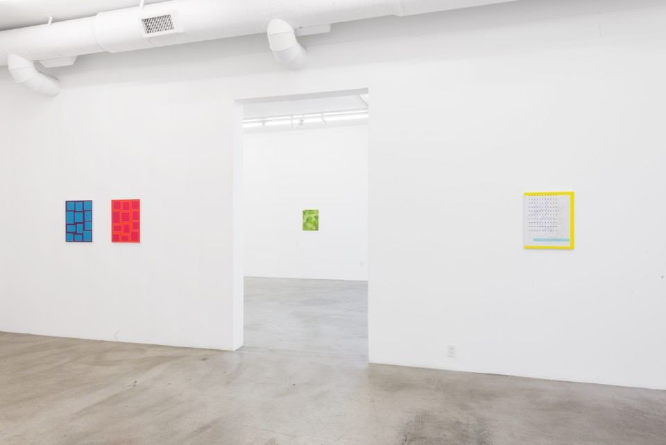 Image: Installation view of Cameron Martin: Signals at M+B, Los Angeles