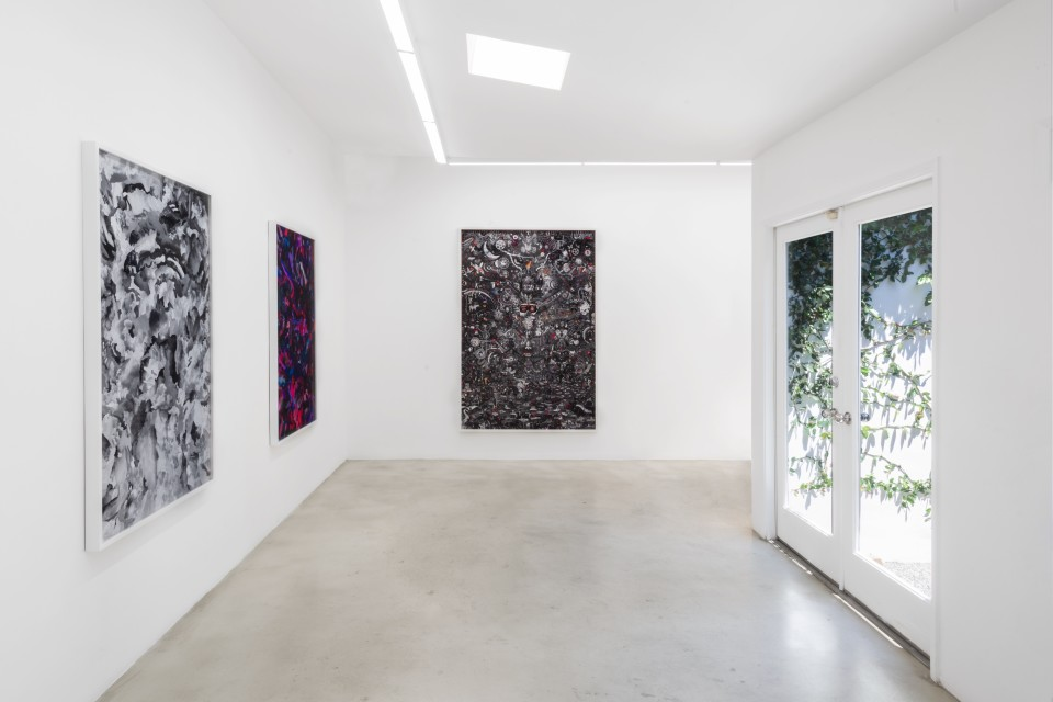 Image: Installation view of Case Simmons: One By One at M+B, Los Angeles