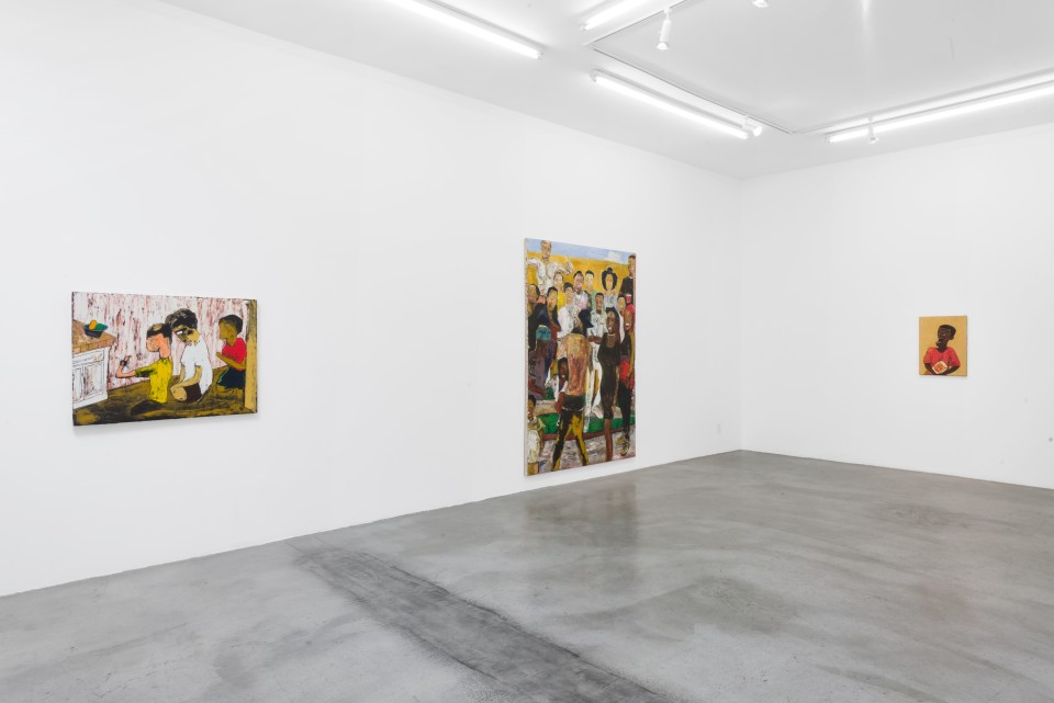 Image: Installation view of Brandon Landers: Aretha at M+B, Los Angeles