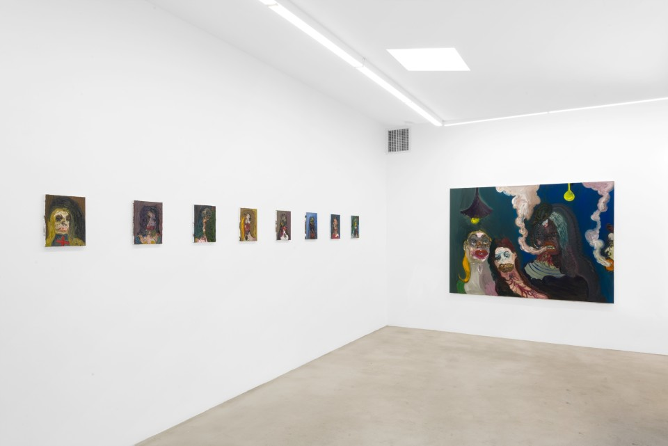 Image: Installation view of Trude Viken: Unmasked at M+B, Los Angeles