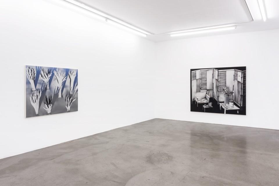 Image: Installation view of Kara Joslyn: Tragic Kingdom at M+B, Los Angeles