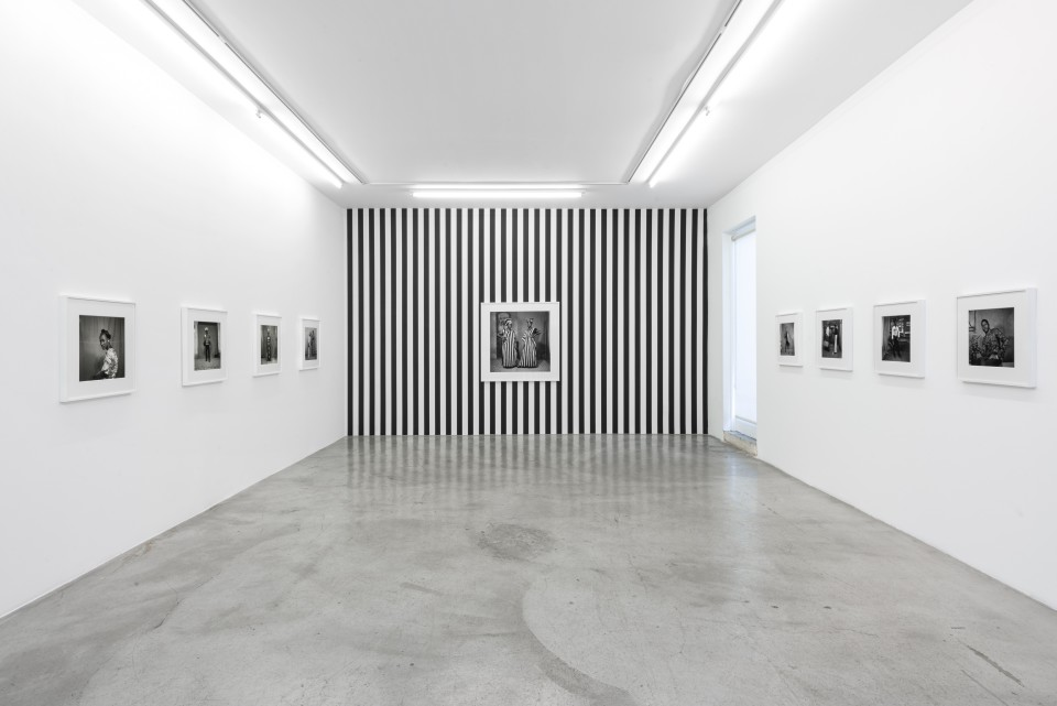 Image: Installation view of Sanlé Sory: Volta Photo at M+B, Los Angeles
