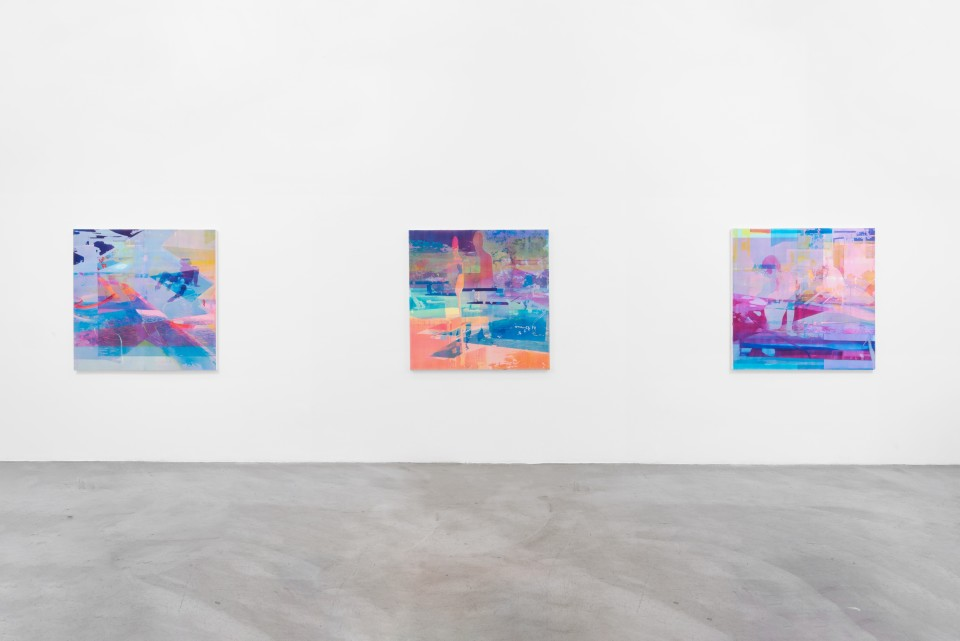 Image: Installation view of Zoe Walsh: I came to watch the morning rise at M+B, June 26 - July 25, 2020