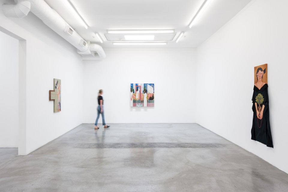 Image: Installation view of Arghavan Khosravi: Presence of Others at M+B, August 1 - August 22, 2020
