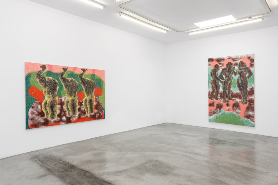 Image: Installation view of Didier William: 'Pulse' at M+B, September 23 - October 24, 2020