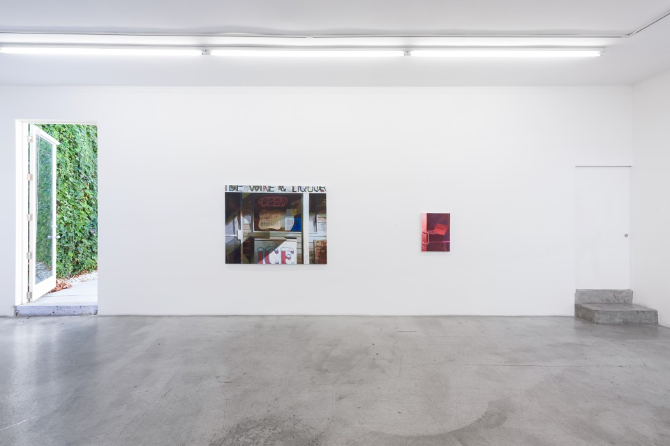 Image: Installation view of Matt Bollinger: Labor Day at M+B, October 30 - November 28, 2020 (Photo credit: Ed Mumford)