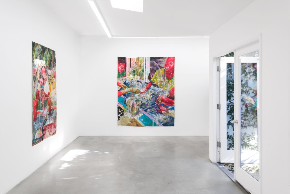 Image: Installation view of Lavar Munroe: 'Father Alone' at M+B, December 5, 2020 - Janaury 16, 2021