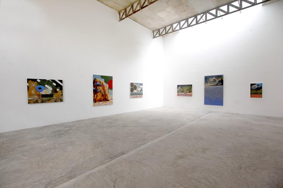 Image: Installation view of Leo Mock's presentation in Mérida, Mexico for NADA Miami 2020