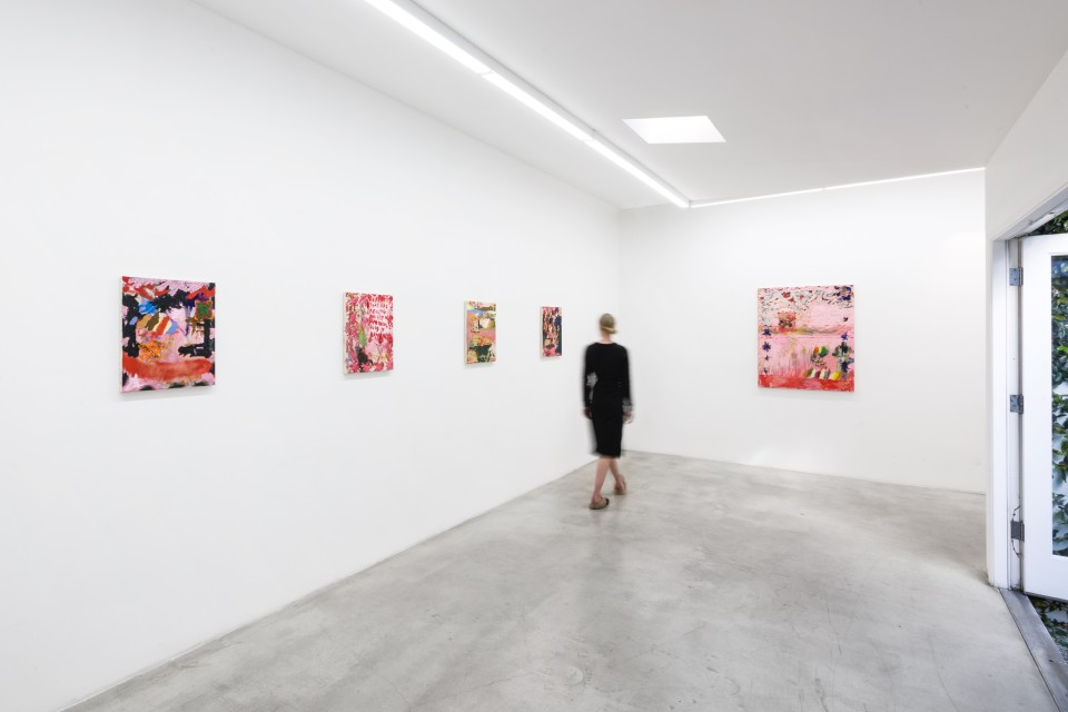 Image: Installation View of Daisy Parris: Pain For Home at M+B, March 6 - April 17, 2021