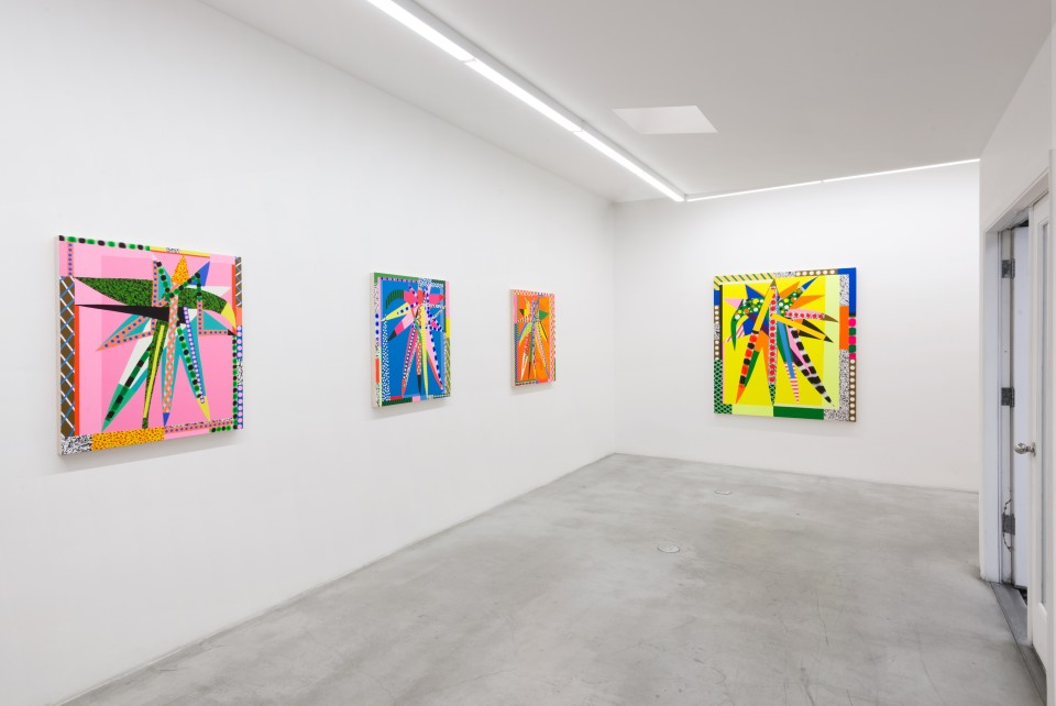 Image: Installation view of Jonathan Casella: Doublestar at M+B, April 24 - May 29