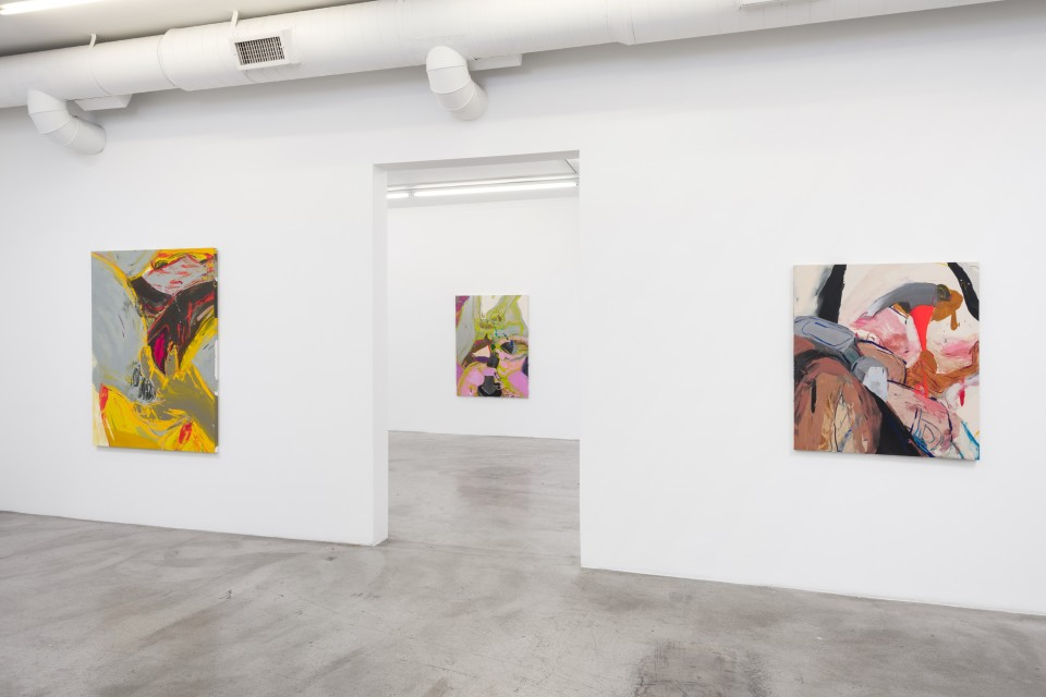 Image: Installation view of Sarah Faux: Whatever I see I swallow at M+B, June 4 - July 10