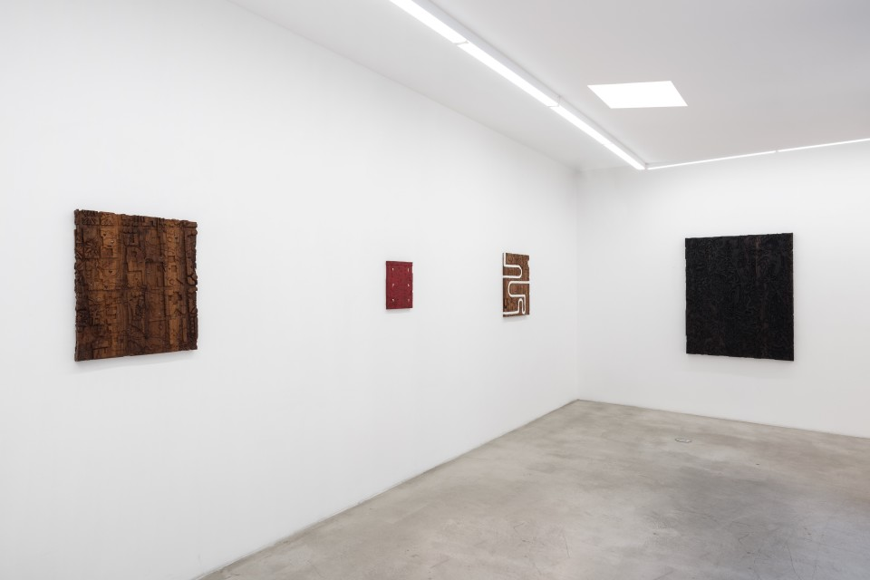 Image: Installation view of Josh Dihle: Root Music at M+B, June 4 - July 10