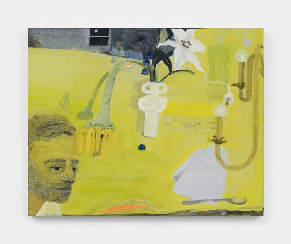 Image: Aubrey Levinthal Late Summer, 2021 signed, titled and dated verso oil on panel 16 x 20 inches (40.6 x 50.8 cm) (ALe.21.011.16)