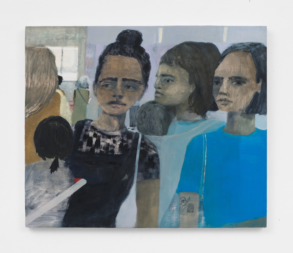 Image: Aubrey Levinthal Self-checkout, 2021 signed, titled and dated verso oil on panel 20 x 24 inches (50.8 x 61 cm) (ALe.21.009.20)