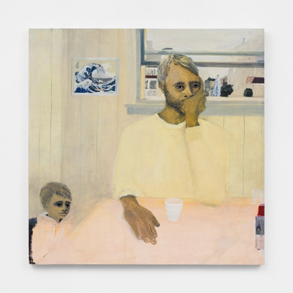 Image: Aubrey Levinthal The Boys, 2021 signed, titled and dated verso oil on panel 40 x 40 inches (101.6 x 101.6 cm) (ALe.21.013.40)