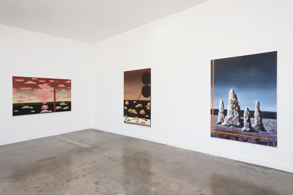 Image: Installation view of Leo Mock: