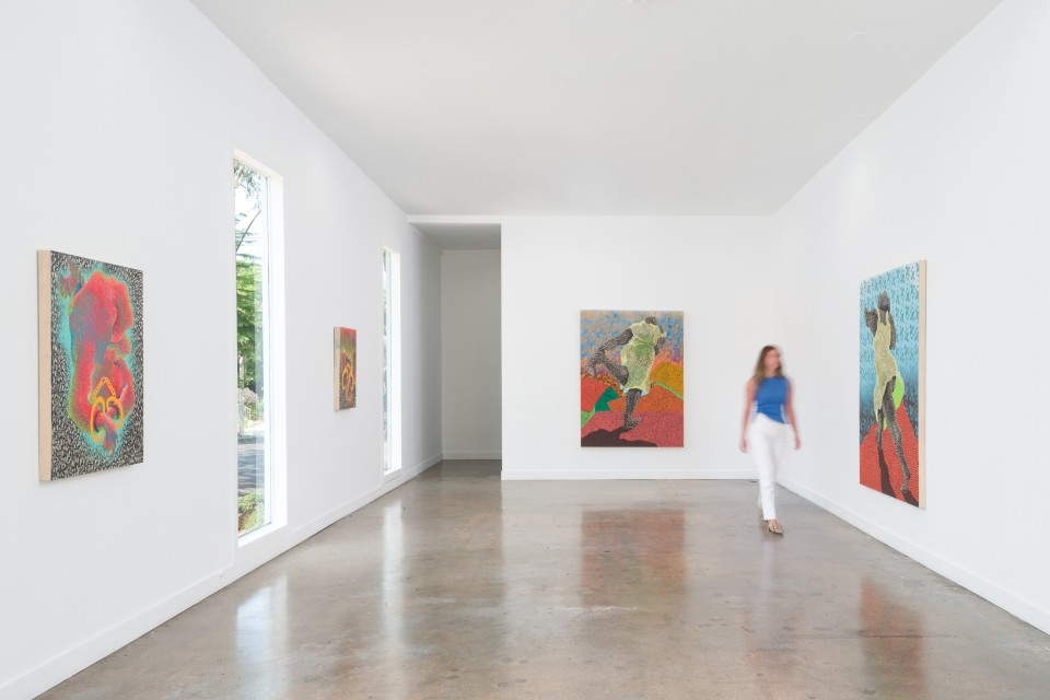 Image: Installation view of Didier William: Dance, Without Incidient at M+B Doheny, July 17 - July 24, 2021
