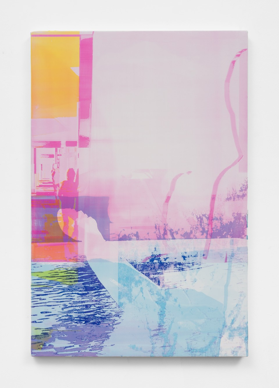 Image: Zoe Walsh  Moon is always fading, 2021  acrylic on canvas-wrapped panel  30 x 20 inches (76.2 x 50.8 cm)  (ZW.21.037.30)