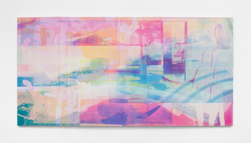 Image: Zoe Walsh  Navigators, Study A, 2021  acrylic on canvas-wrapped panel  12 x 24 inches (30.5 x 61 cm)  (ZW.21.041.12)