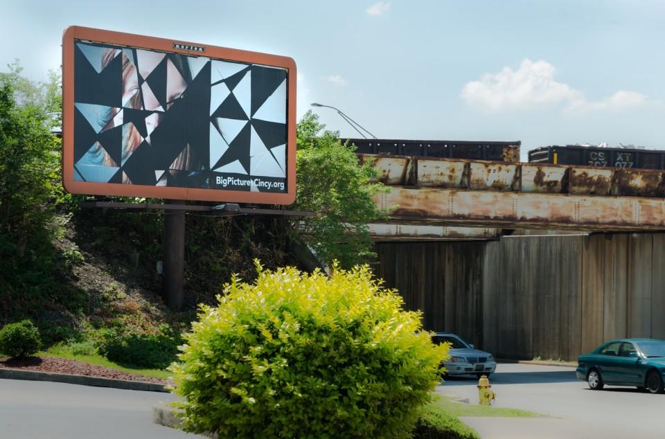 Image: public art exhibition • organized by the Cincinnati Art Museum • June 1 - July 14, 2014