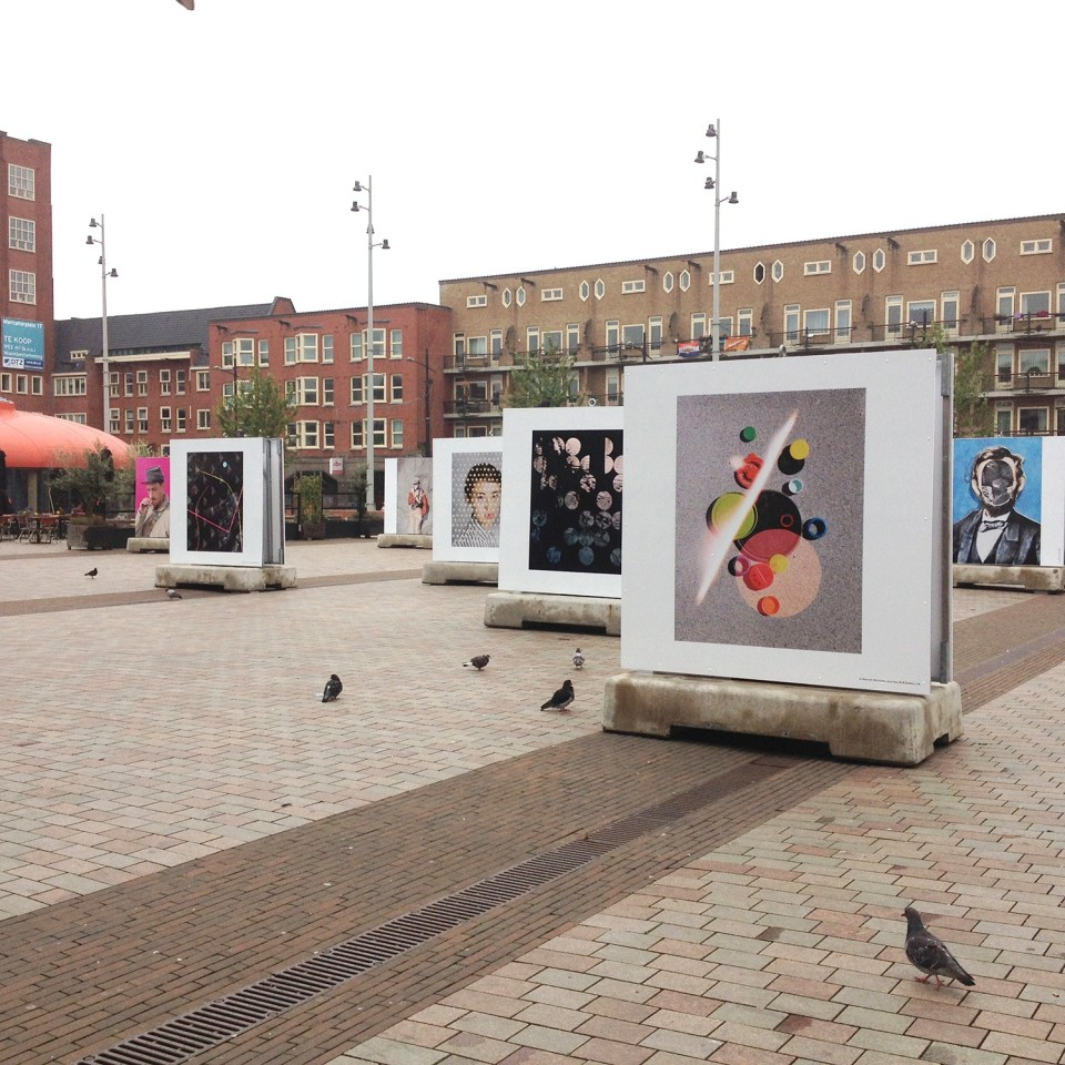 Image: Foam Magazine Talent Issue • public-art exhibition at Mercatorplein, Amsterdam • July 3 - July 30, 2014