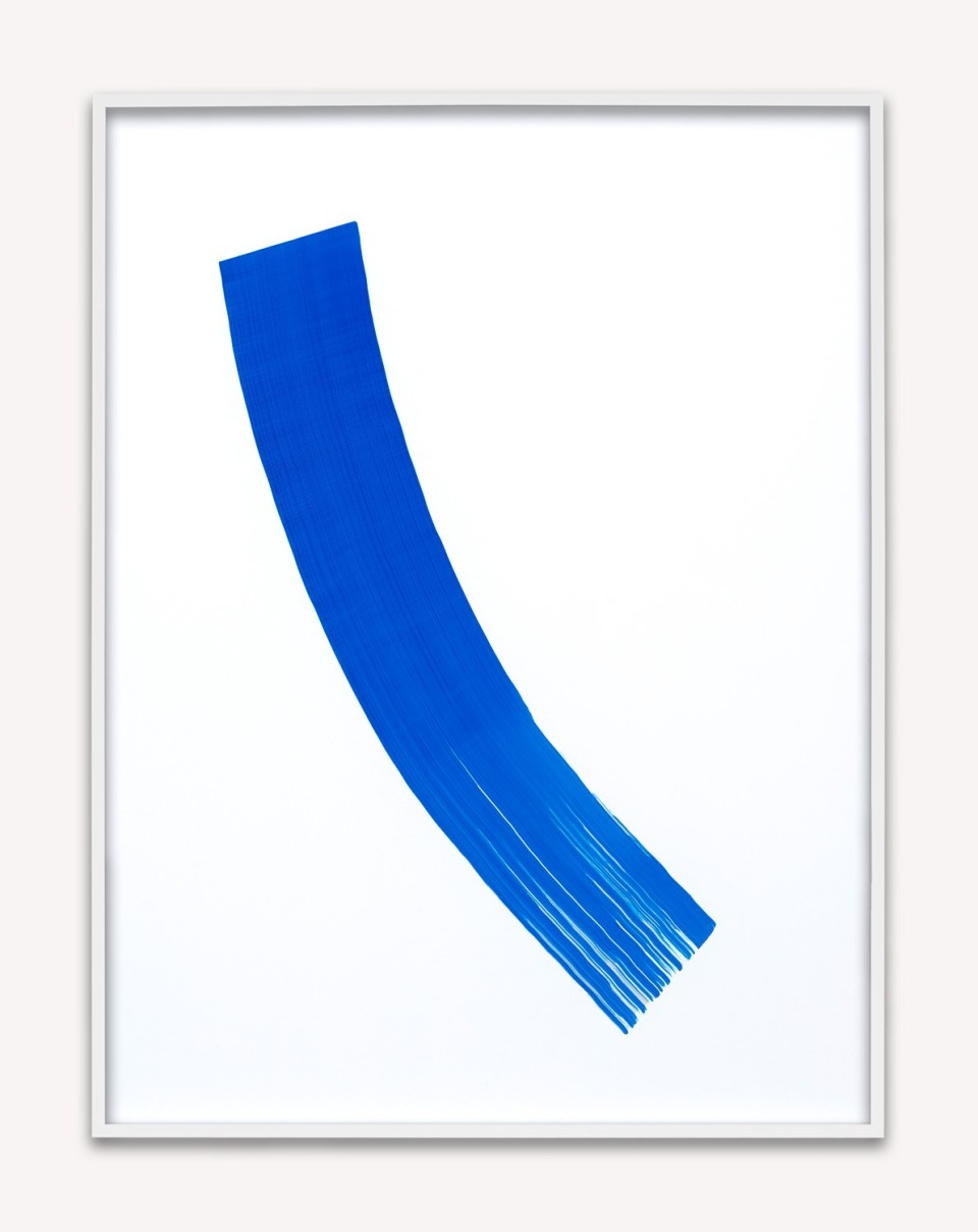 Image: Phil Chang Replacement Ink for Epson Printers (Blue 172201) on Epson Premium Luster Paper, 2014 signed, dated and titled verso unique archival pigment print 22-1/2 x 17-1/2 inches